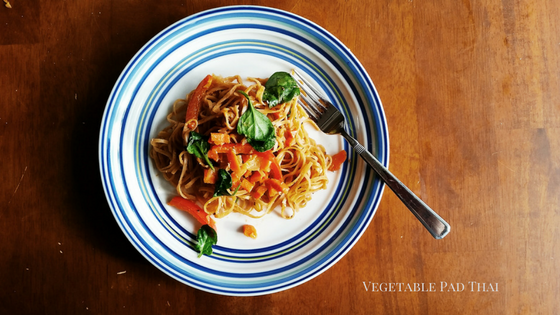 Vegetable Pad Thai TOP post 1