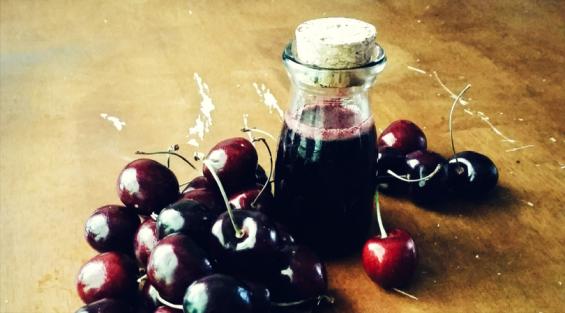 Cherry vanilla syrup